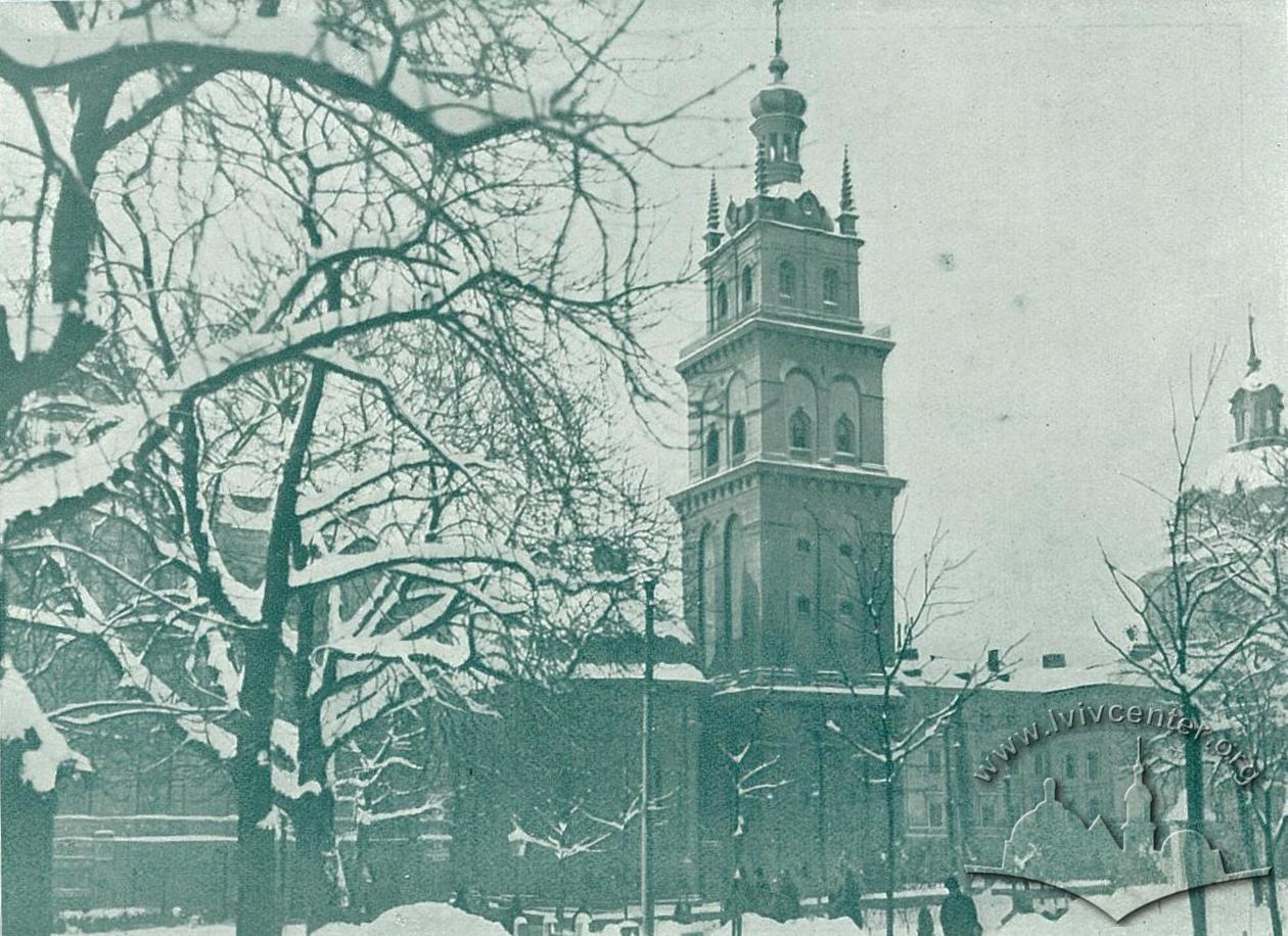 Успенська церква, зима 1914-1915 рр.