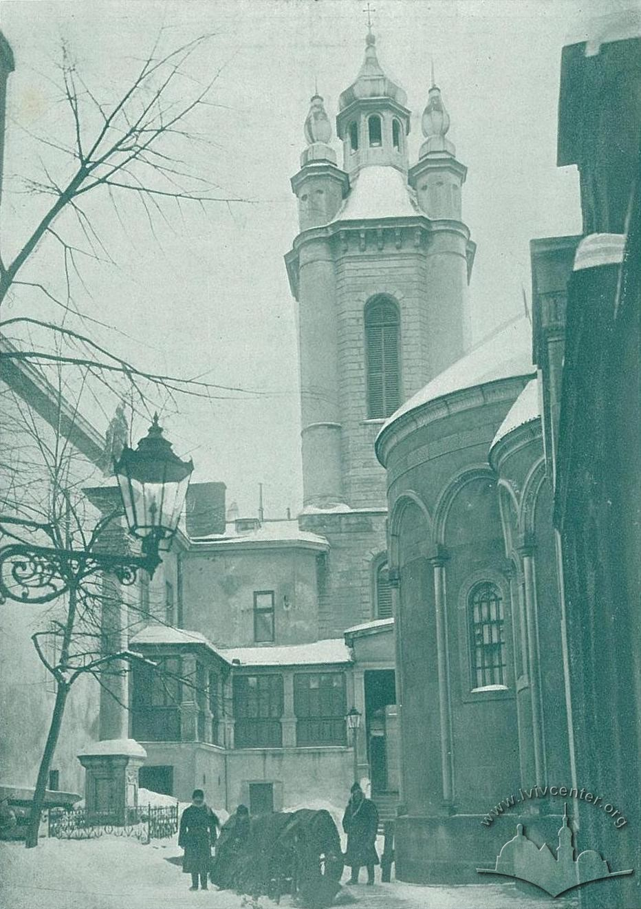 Вірменський собор, зима 1914-1915 рр.