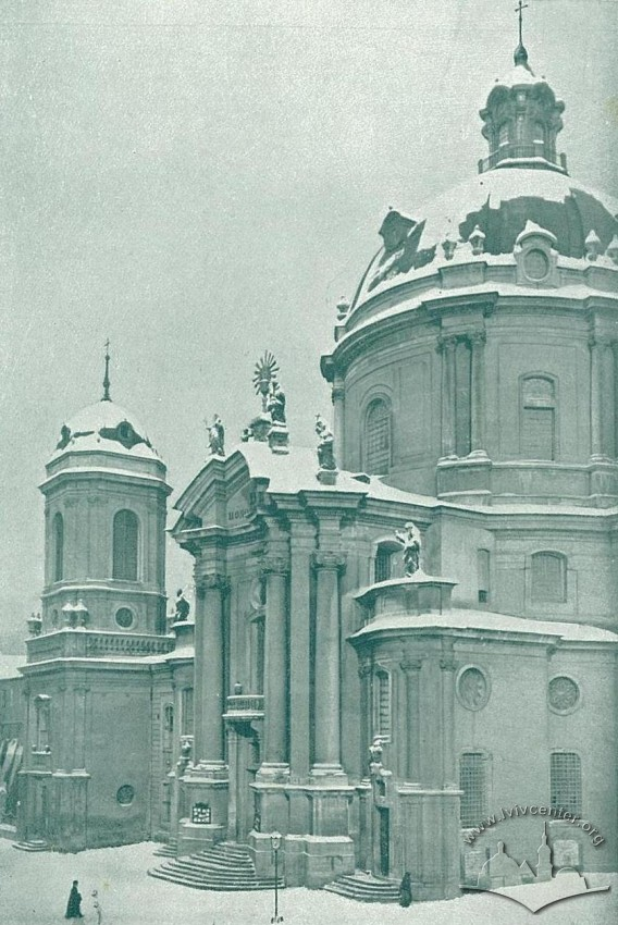 Домінікаський костел, зима 1914-1915 рр.