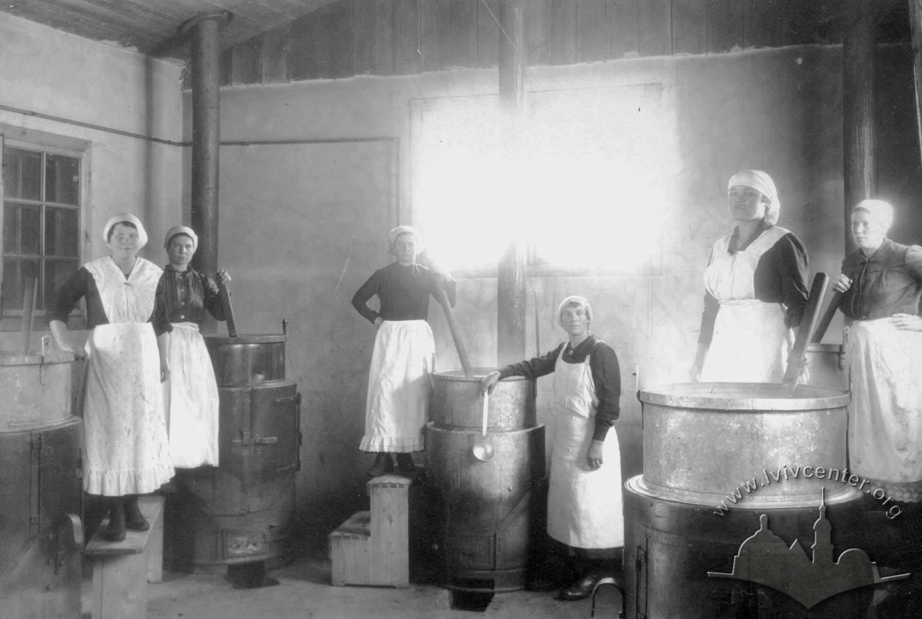 Кухарки, 1914-1918 рр.