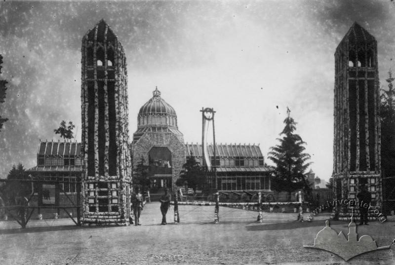 Головний вхід на Військову виставку, 1916 р.