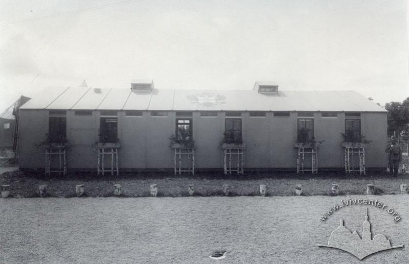 Будинок австрійського Червоного Хреста на Військовій виставці, 1916 р.