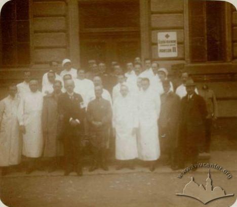 Шпиталь Червоного Хреста, 1916 р.