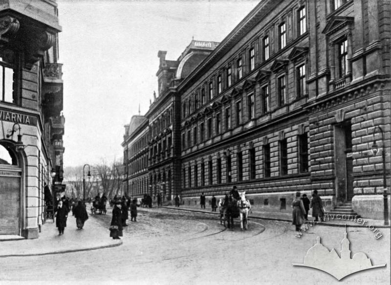 Вид вулицю Словацького, 1914-1915 рр.