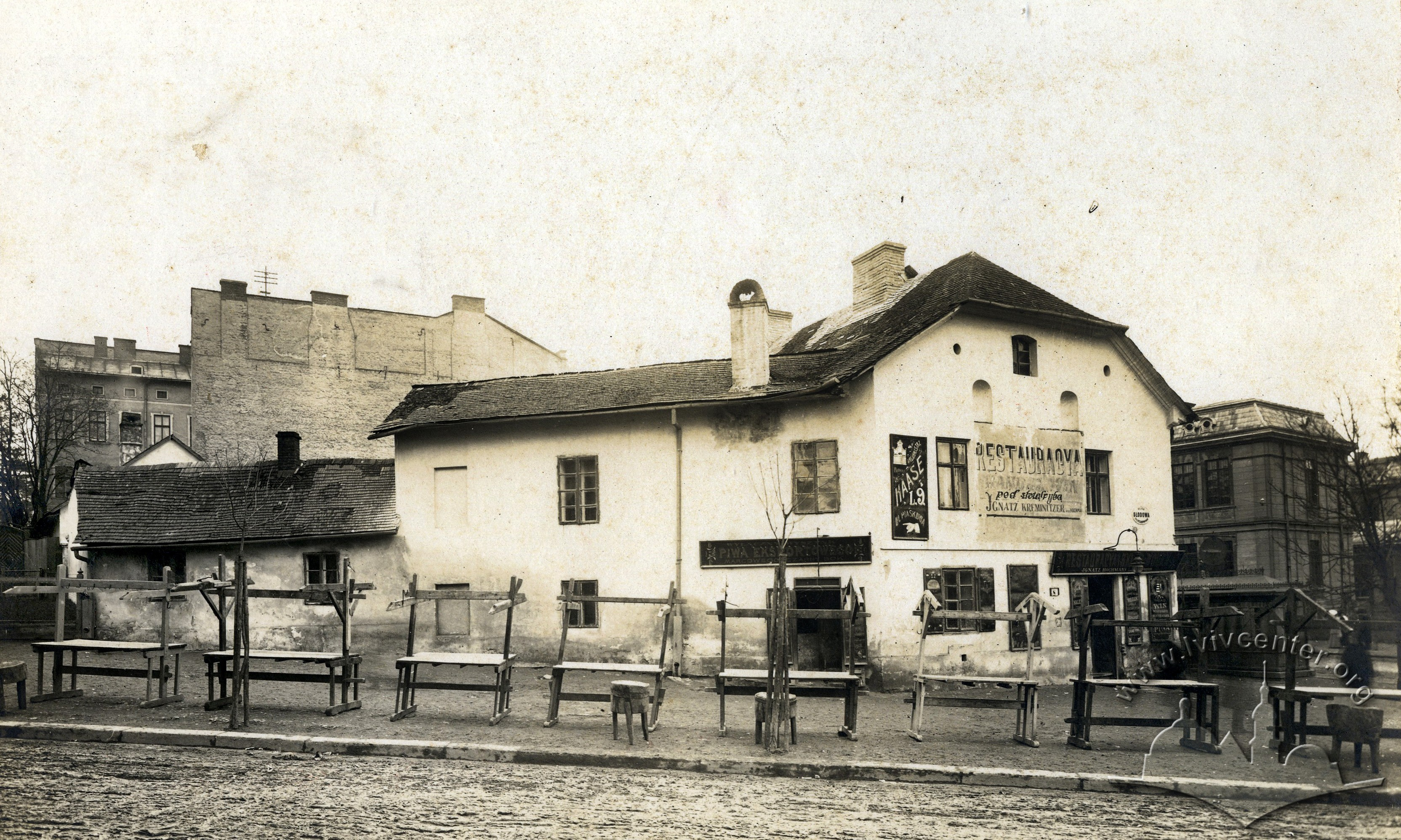 Личаківський базар, 1916 р.