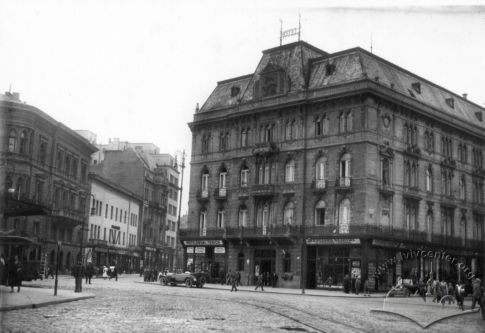 """Готель """"Жорж"""", 1914 р."""