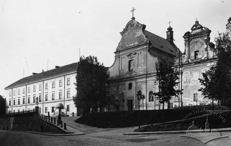 Школа ім. Сенкевича, 1918 р.