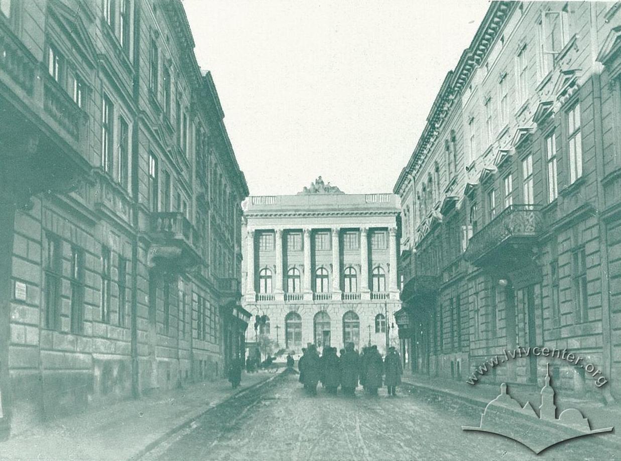 Політехнічний інститут, зима 1914-1915 рр.