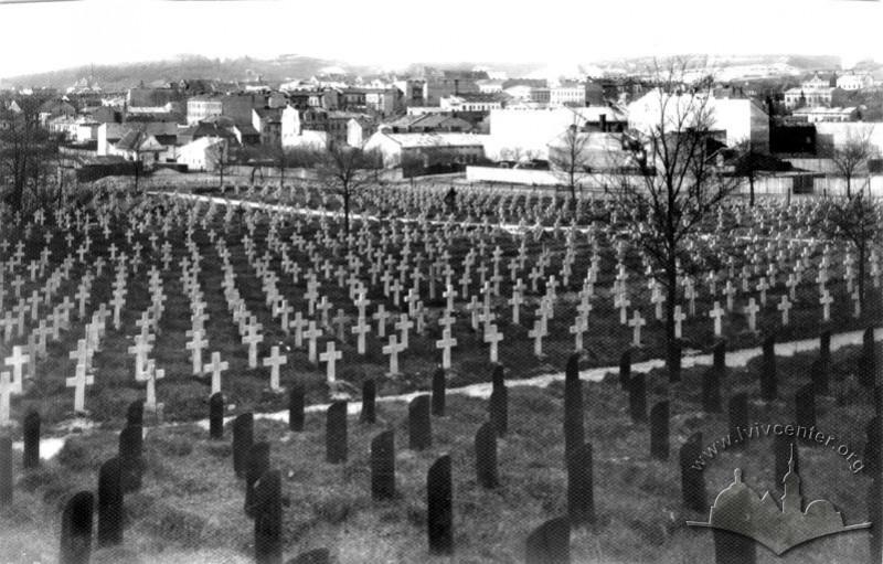 Військовий цвинтар, 1915 р.